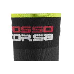 Castelli Rosso Corsa 9 Socks black/yellow fluo